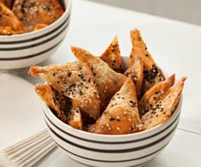 Snacks de gambas (Giau Gung Ob)