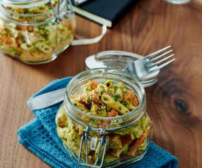 Curry-Möhren-Nudelsalat