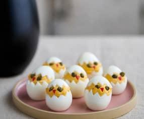 Oster Küken - gefüllte Eier