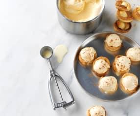 Gelado de pastel de nata