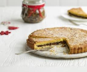 Mincemeat and Almond Tart