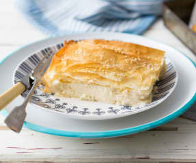 Tiropita (Greek cheese pie)