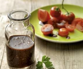 Condimento alla senape e aceto balsamico