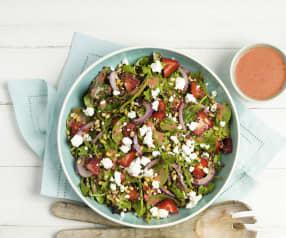 Quinoa Salad with Strawberry Vinaigrette