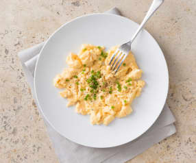 Sous vide scrambled eggs