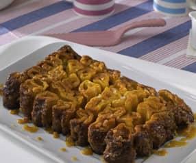 Rollos de brioche caramelizados (sin gluten)