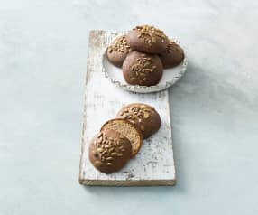 Buckwheat and almond slider buns