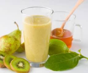 Smoothie de kiwi y pera
