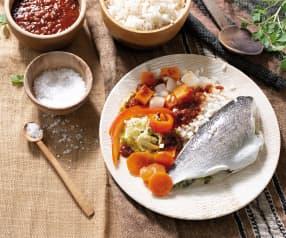 Thieboudienne de pescado (Senegal)