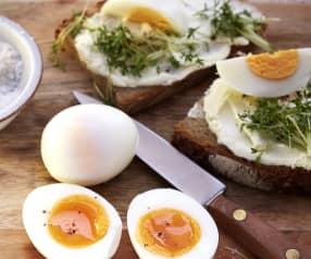 Eier, gekocht