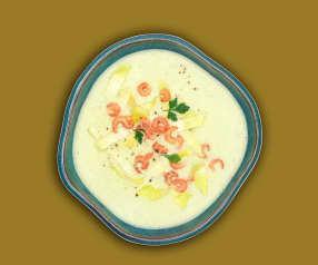Chicorée-Kartoffel-Suppe