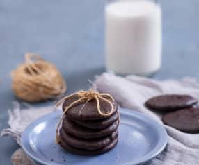 Ciasteczka czekoladowe 'ciągutki'
