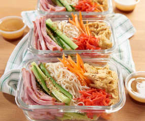 Asian Somen Noodle Salad