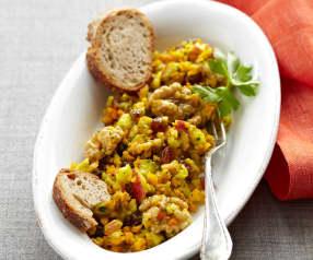 Kürbis-Radieschen-Salat