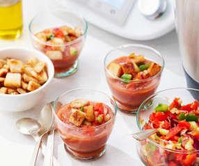 Gaspacho aux petits légumes