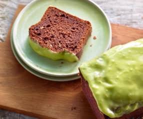Plumcake al cioccolato con crema di avocado