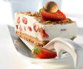Erdbeer-Amarettini-Kuchen