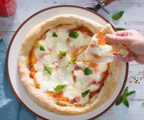 Pizza al estilo napolitana (Come, reza, ama)