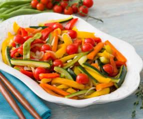 Verduras variadas marinadas