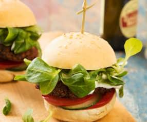 Vegane Käferbohnen-Burger