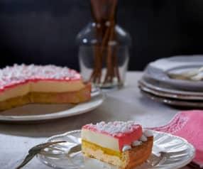Crostata al frutto della passione e vaniglia