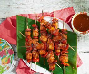 Huli Huli Chicken Skewers
