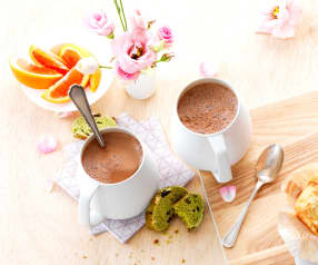 Chocolat chaud au lait d'amande - Sébastien Richard