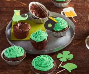 Cupcakes de la Saint-Patrick