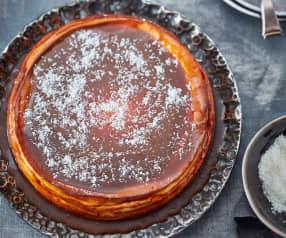 Kokosovo-karamelový cheesecake