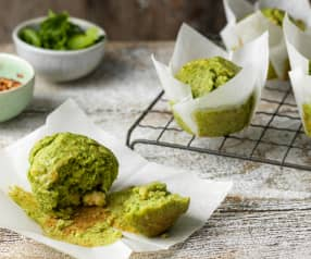 Prawn, Coriander and Lime Muffins