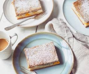 Mohn-Quark-Kuchen vom Blech