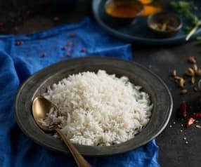 Arroz basmati (Cocción de arroz)