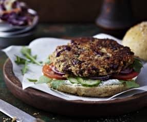 Bohnen-Burger (vegan)