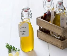Lemon and thyme oil