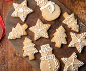 Gluten-free Gingerbread Biscuits
