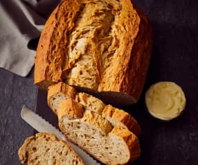 Zwiebelbrot für Fondue und Raclette