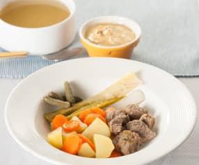 Cocido francés (Pot-au-feu)