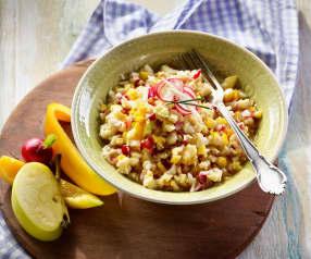 Radieschen-Apfel-Salat