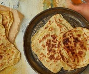 Msemen (Crêpes sfogliate marocchine)