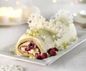 Gluten-free Raspberry Cream Roulade