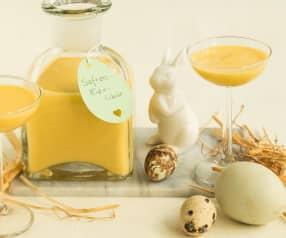 Vaječný likér se šafránem