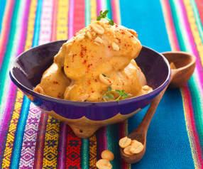 Poulet piment-cacahuète