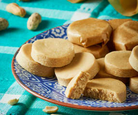 Mazapanes de cacahuate