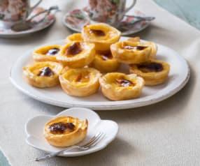 Portuguese-style custard tarts