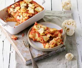 Karfiol-Salsiccia-Cannelloni