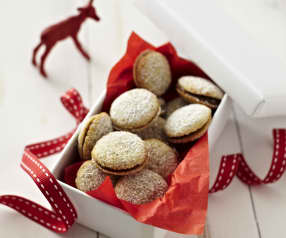 Nougat-koekjes