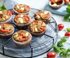 Wytrawne muffiny cukiniowe