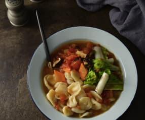 蕃茄麵片湯