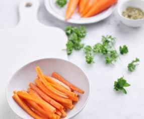 Bastones de zanahoria sofritos 200 g