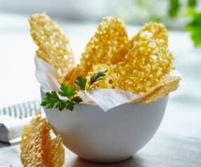Crackers di Parmigiano reggiano e paprica